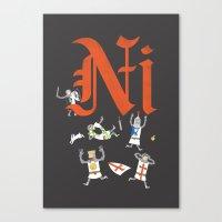 Ni! Canvas Print