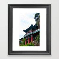 Temple Sasung 1 Framed Art Print