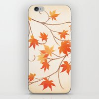 Autumn Leaves Are Like F… iPhone & iPod Skin