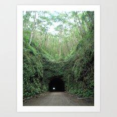 Tunnel Vision Art Print