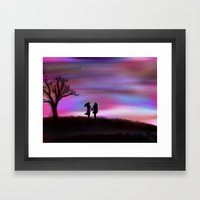 Monday Dawning Framed Art Print