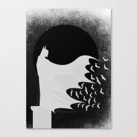 Night Rising Canvas Print