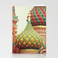 Russian Onion Domes Stationery Cards