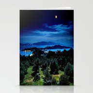 Stationery Cards featuring Night by 2sweet4words Designs