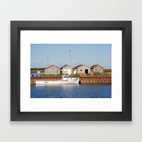 Lighthouse On P.E.I. Framed Art Print
