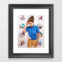 Mon Framed Art Print