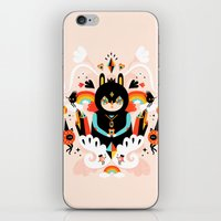 Rainbow Queen iPhone & iPod Skin