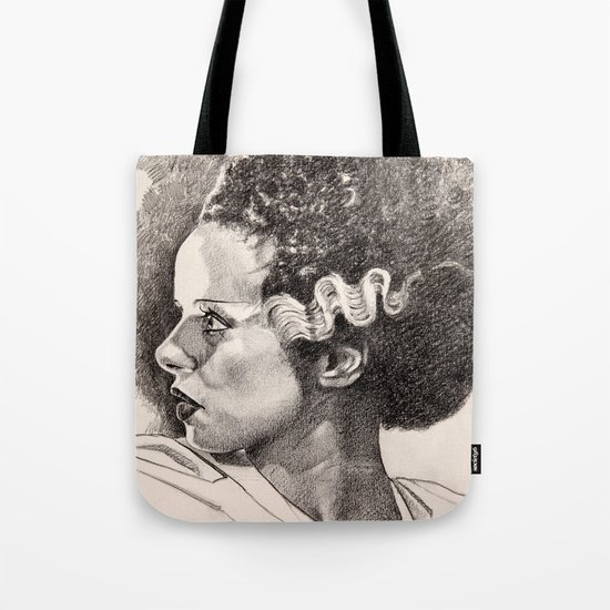 The bride of frankenstein elsa lancaster Tote Bag