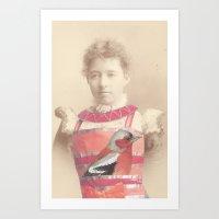 Salvaged Relatives (09) Art Print