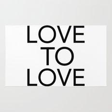 LOVE TO LOVE Rug