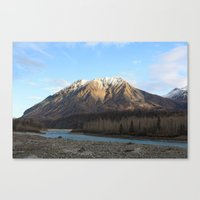 Blue Creek, Alaska Canvas Print