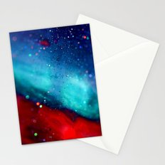 Glitter abstract III Stationery Cards