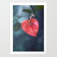 Art Print featuring Cuore by Claudia Drossert