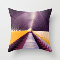 Understanding Nothing, Being Everything Throw Pillow