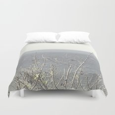 Branches at the sea Duvet Cover