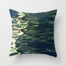 Water / H2O #64 (water abstract) Throw Pillow