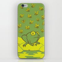 Frog Pond iPhone & iPod Skin