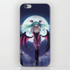 Morrigan - Darkstalkers iPhone & iPod Skin