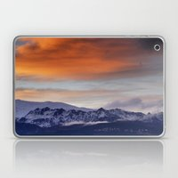 Alayos Mountains. Sunset landscapes Laptop & iPad Skin