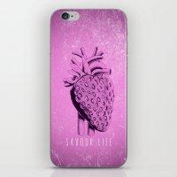 Savour Life ! iPhone & iPod Skin