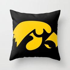 NCAA - Hawkeyes Throw Pillow