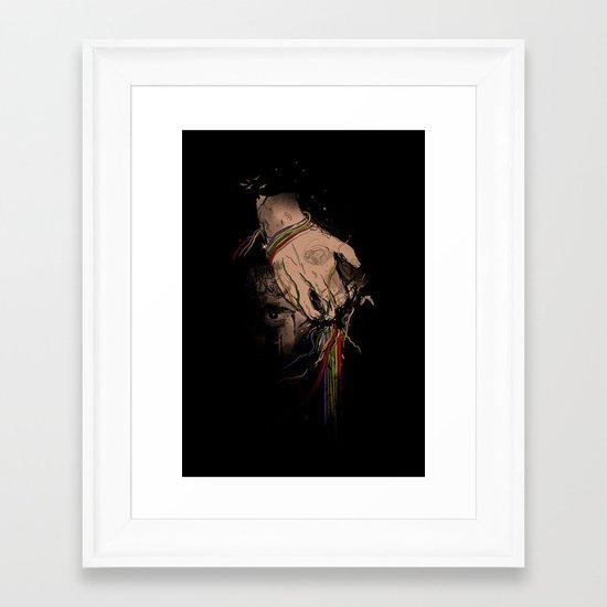 The Terror Framed Art Print