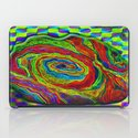 BRAINMAN #1 Psychedelic Vibrant Character Design iPad Case