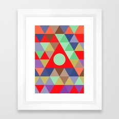power Framed Art Print