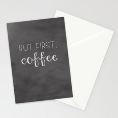But First, Coffee Stationery Cards