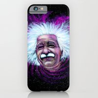Albert Einstein Nebula iPhone 6 Slim Case