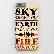 Sky Earth Fire iPhone 6s Slim Case