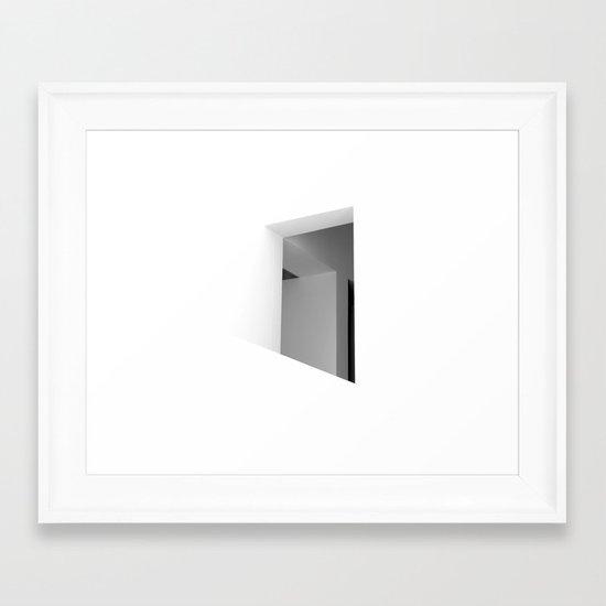 There. Macba, Barcelona Framed Art Print