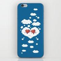 DREAMY HEARTS iPhone & iPod Skin