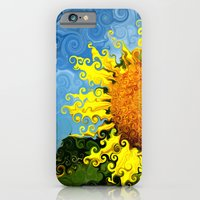 The Day Of The Sunflower iPhone 6 Slim Case