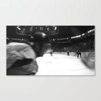 Fast Hockey Canvas Print