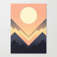 The Sun Rises Canvas Print