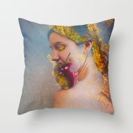 She Was The Apple Of His… Throw Pillow