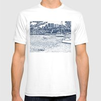 Charles River Esplanade Mens Fitted Tee White SMALL