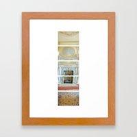 Dinning Hall/ Bass Mansion Framed Art Print