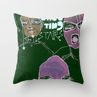 Shooting Stars An The Re… Throw Pillow