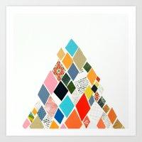 White Mountain Art Print