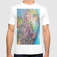 by the sea by the sea by the beautifull  sea Mens Fitted Tee White SMALL