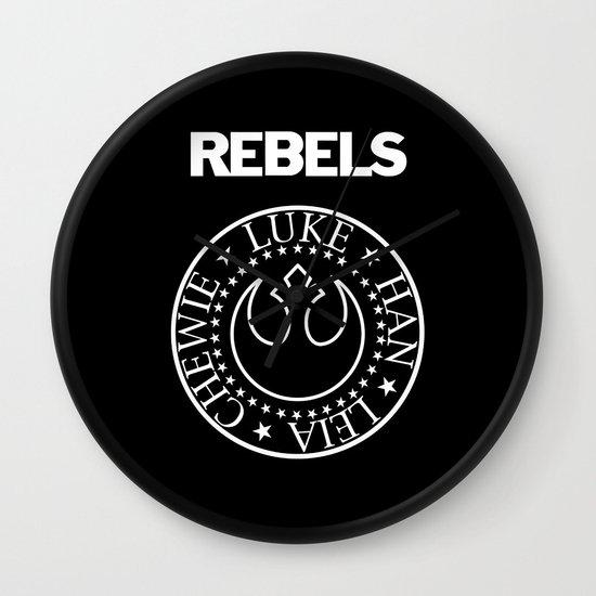 I Wanna Be a Rebel Wall Clock