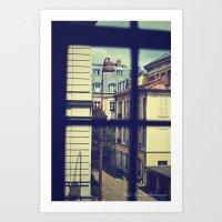 Voyeur (I Spy) Art Print