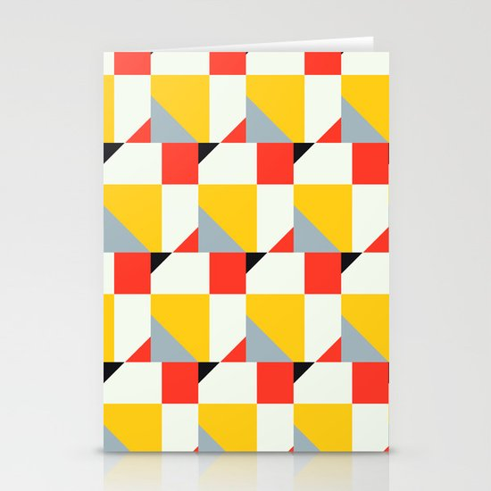 Crispijn Pattern Stationery Card
