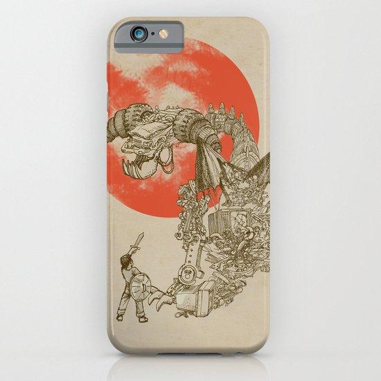 Junkyard Dragon  iPhone & iPod Case