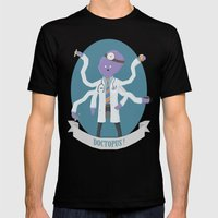 Doctopus! Mens Fitted Tee Black SMALL