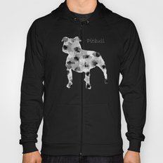 the pit bull dog  Hoody