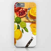 Still Life with Pomegranate iPhone 6 Slim Case