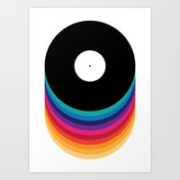 Happy Music Art Print